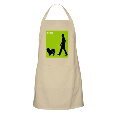 Chow Chow Rough-Coat BBQ Apron