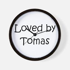 Cute Tomas Wall Clock