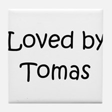 Cute Tomas Tile Coaster