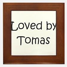 Cute Tomas Framed Tile