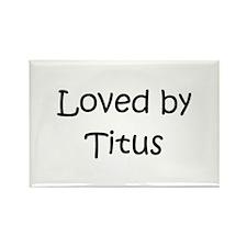 Unique Titus Rectangle Magnet