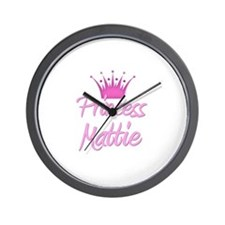 Princess Mattie Wall Clock