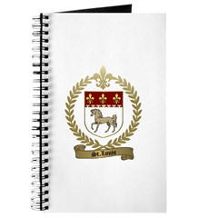 ST. LOUIS Family Crest Journal