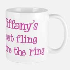 Tiffanys last fling Mug