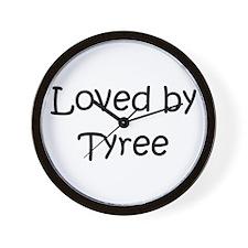 Cute Tyree Wall Clock