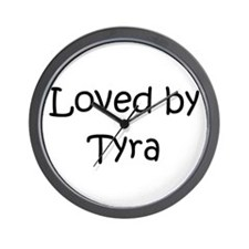 Cute Tyra Wall Clock