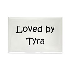 Cute Tyra Rectangle Magnet