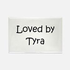 Cool Tyra Rectangle Magnet