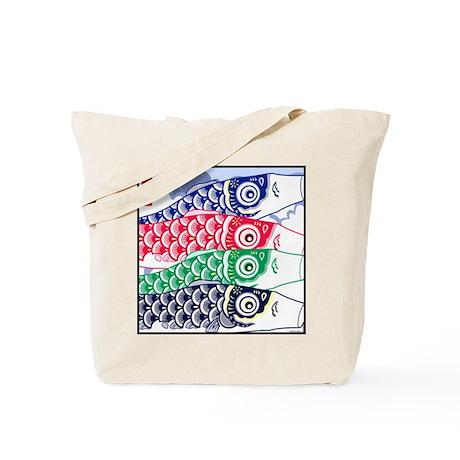 Koi Waves Tote Bag