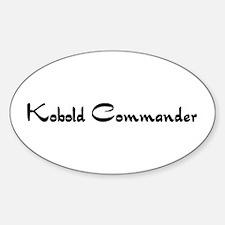 Kobold Commander Oval Decal