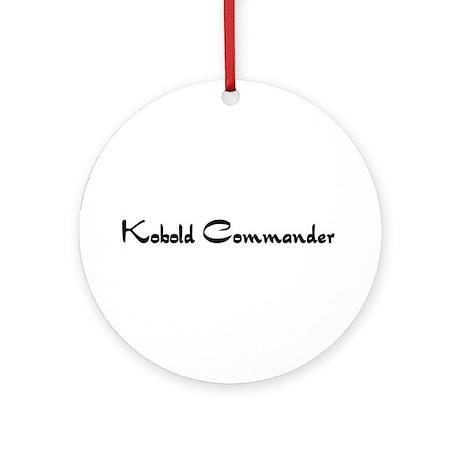 Kobold Commander Ornament (Round)