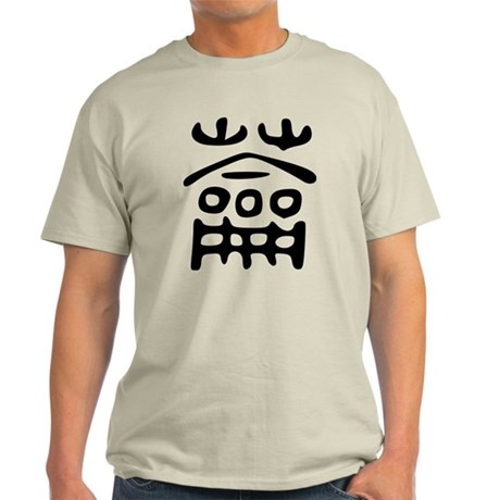 Chinese Character Flute Light T-Shirt