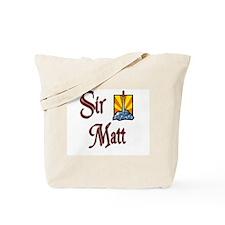 Sir Matt Tote Bag
