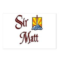Sir Matt Postcards (Package of 8)