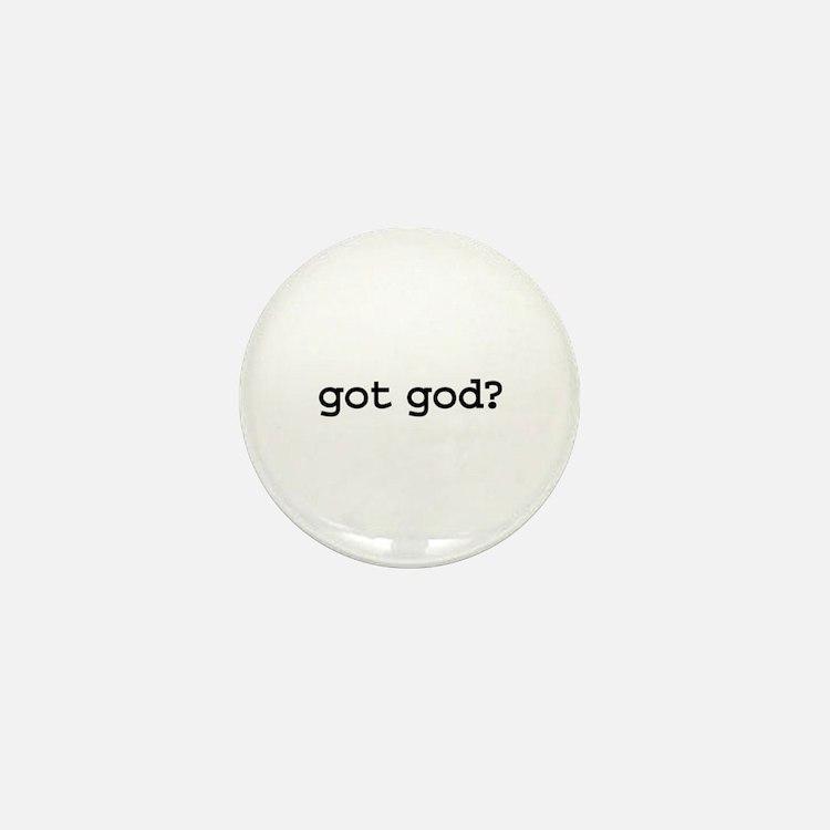 got god? Mini Button (10 pack)