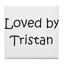 Cute Tristan Tile Coaster