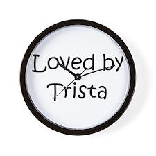 Cute Trista Wall Clock