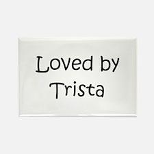 Unique Trista Rectangle Magnet