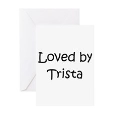 Funny Trista Greeting Card