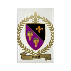 SURET Family Crest Rectangle Magnet (100 pack)