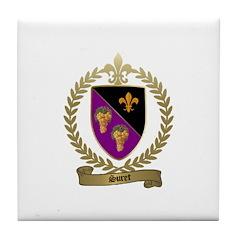 SURET Family Crest Tile Coaster