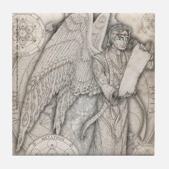 Archangel Metatron Tile Coaster