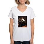 St. Catherine Women's V-Neck T-Shirt