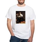 St. Catherine White T-Shirt