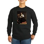 St. Catherine Long Sleeve Dark T-Shirt