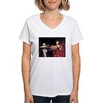 St. Jerome Women's V-Neck T-Shirt