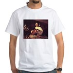Lute Player White T-Shirt