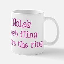 Nolas last fling Mug