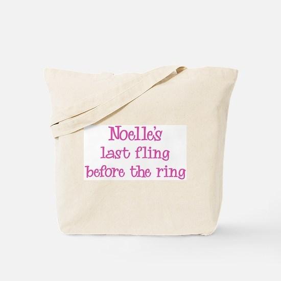 Noelles last fling Tote Bag