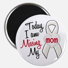 """Missing My Mom 1 PEARL 2.25"""" Magnet (10 pack)"""