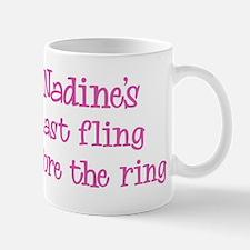 Nadines last fling Mug