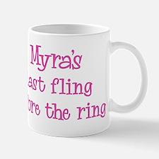 Myras last fling Small Small Mug