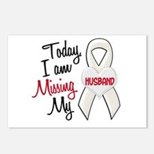 Missing My Husband 1 PEARL Postcards (Package of 8