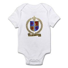 TAILLON Family Crest Infant Creeper