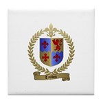 TAILLON Family Crest Tile Coaster