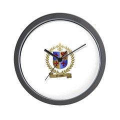 TAILLON Family Crest Wall Clock