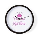 Princess Martina Wall Clock