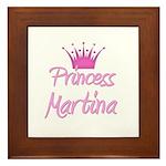 Princess Martina Framed Tile
