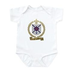 TANGUAY Family Crest Infant Creeper