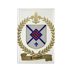 TANGUAY Family Crest Rectangle Magnet (100 pack)