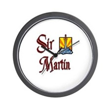 Sir Martin Wall Clock