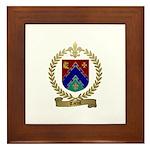 TARDIF Family Crest Framed Tile