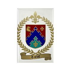 TARDIF Family Crest Rectangle Magnet (10 pack)