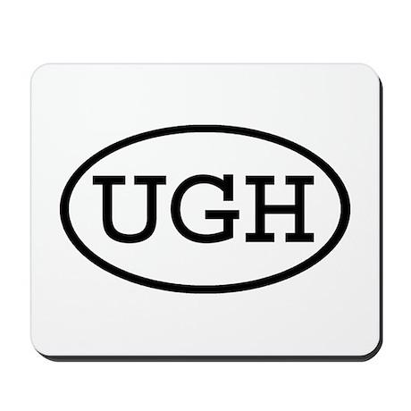 UGH Oval Mousepad
