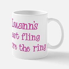 Luanns last fling Mug