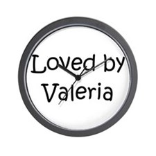 Cute Valeria Wall Clock